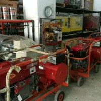 Genset diesel type open 25 kva 3 phase fortuner model dongfeng