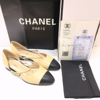 Chanel Flat Shoes Super Mirror Quality Authentic