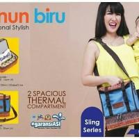 tas asi gabag batik FREE 2 ICE GEL / tas penyimpan asi