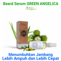 Beard Serum Green Angelica tag krim jambang Wak Doyok