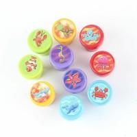 Mainan anak - stempel anak - reward stamp - ocean animal - ikan