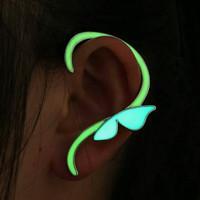 Anting - Earring - GLOW IN THE DARK - Butterfly