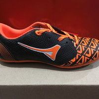 promo sepatu futsal anak ardiles new campista warna hitam oren ORIGINA