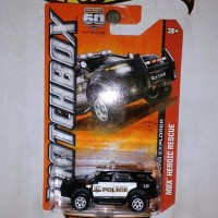 Matchbox 2013 Ford Explorer Police MBX Heroic Rescue