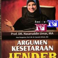 Argumen Kesetaraan Jender Perspektif Al Quran- Nasaruddin Umar- Gender