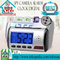 promo Spycam / Spy cam / Spy camera Alarm Clock Digital Bagus Murah