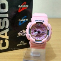 Sale Jam Tangan Wanita Casio G-Shock Baby-G Bga 110 PINK 5