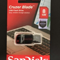 flashdisk Cruzer Blade Sandisk 8 GB asli original