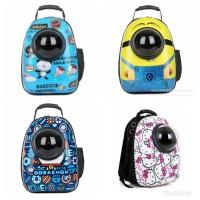 Capsule Pet Carrier / Tas Backpack Untuk Kucing