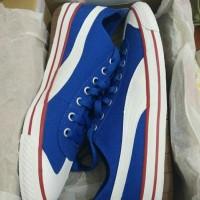 Sepatu Sneakers Puma Fun 917 Canvas Original True Blue White Classic