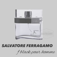 10ML DECANT - SALVATORE FERRAGAMO F BLACK - Parfum Original - For Men