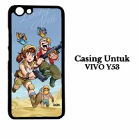 Casing VIVO Y53 locky ardhi xp e5 Custom Hardcase Cover