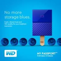WD My Passport External HDD Portable 1TB - Eksternal Hard Disk