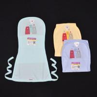 LIBBY 3 Pcs Popok Tali Bayi/Baby Warna (0-3M)