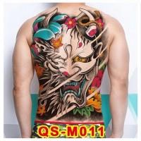 Tato/Tatto temporary/Tatto punggung/ 36x48 cm QS-M011
