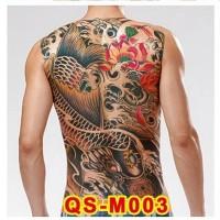 Tato/Tatto temporary/Tatto punggung/ 36x48 cm QS-M003