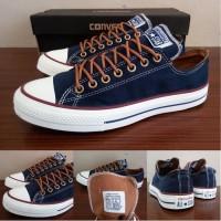 Sepatu All Star Converse Classic Peached Ox Biru Navy Murah