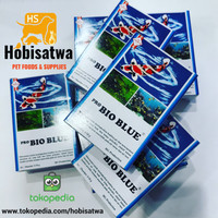 Penjernih Air Kolam Ikan Hias Koi Pro Bio Blue Water Treatment 10Gr