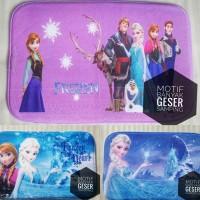 Keset Frozen anna Elsa |Keset rumahan|Keset Anti Slip|Keset anak|alas