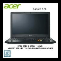 Laptop Multimedia Acer Z-476-31TB/I3-6006/4GB/1TB/DOS/Garansi Resmi