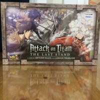 Attack on Titan The Last Stand: Tactical Board Game