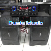 """paket karoke avante Amplifier bluetooth speaker 6""""inch"""