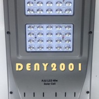 harga Lampu Pju Solarcell Surya 40 Watt 40led Solar Cell Tokopedia.com