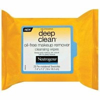 Neutrogena Deep Clean Oil Free Make Up Remover Cleansing Wipes USA