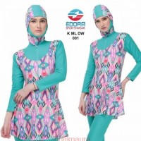 Baju Renang Muslimah Wanita Muslim Dewasa Motif