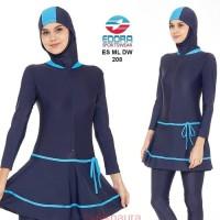 Baju Renang Muslim Wanita Muslimah Dewasa Polos