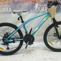 SEPEDA THRILL TABIBITHO MISCHIEF 2.0 MTB 24 INCH ALLOY FRAME 21SPEED