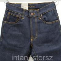 SPECIAL PRICE! Nudie Jeans Slim Fit Tape Ted 16 Dips Dry/CELANA JEANS/