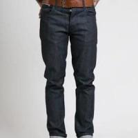 Special Price! Nudie Jeans Slim Fit Grim Tim Dry Pure Indigo Selvage/C