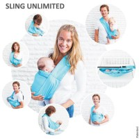 Cuci Gudang!! Mini Monkey Sling Unlimited 7 In 1 Turquoise