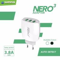 harga Hippo Adaptor Charger Nero 3 Usb Port Simple Pack Tokopedia.com