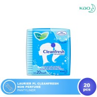LAURIER PL CLEANFRESH 20S NON PERFUME PANTYLINER ISI 20
