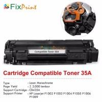 Toner Cartridge Compatible HP 35a Cb435a Printer p1005 p1006