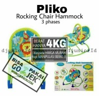 PLIKO - BOUNCER MUSIK + GETAR ROCKING CHAIR HAMMOCK / BOUNCHER PK 308