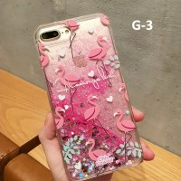Gliter Case iPhone 6 6s 7 plus 8 8plus 8+ Fashion Hard Cover casing