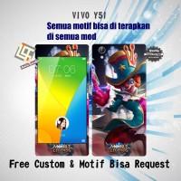 Garskin HP VIVO Y51 Motif Mobil Legend 7 - motif bisa request