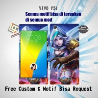 Garskin HP VIVO Y51 Motif Mobile Legend 5 - Motif Bisa request
