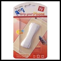 TERMURAH! CLEVER U-GRIP SMARTPHONE HOLDER JARI ANTI SLIP