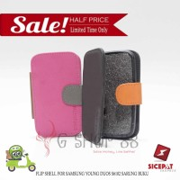 SALE !!! FLIP SHELL FOR SAMSUNG YOUNG DUOS S6102 SARUNG BUKU BACKCOVER