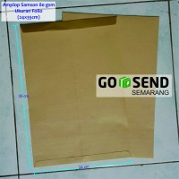 Amplop Coklat Folio | Window | Samson 80 gsm