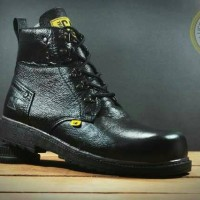 Sepatu Boots Pria Caterpillar Goralia Safety stell toe
