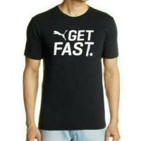 Jual Tshirt Puma, Baju Kaos Distro Terbaru Puma Get Fast Murah