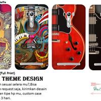 custom case guitar theme for asus zenfone selfie