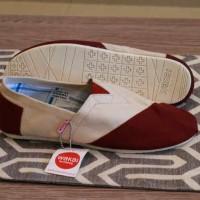 Sepatu Wakai Slip On Wanita original Vietnam gratis kaos kaki