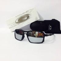 Kacamata Sunglass Oklay Triggerman Hitam lensa Silver