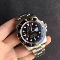 Jam Tangan Replica Rolex Submariner Black Bezel